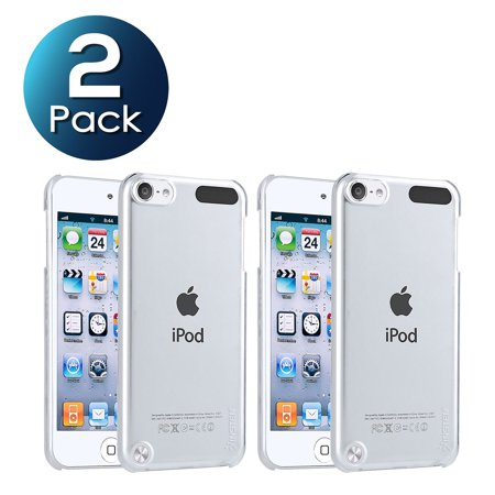 2 Pack Insten Snap-on Crystal Case Cover For Apple iPod touch 6 6th Gen 6G 5 5th Gen 5G, Clear Rear (Two Dollar Ipod Five Cases)