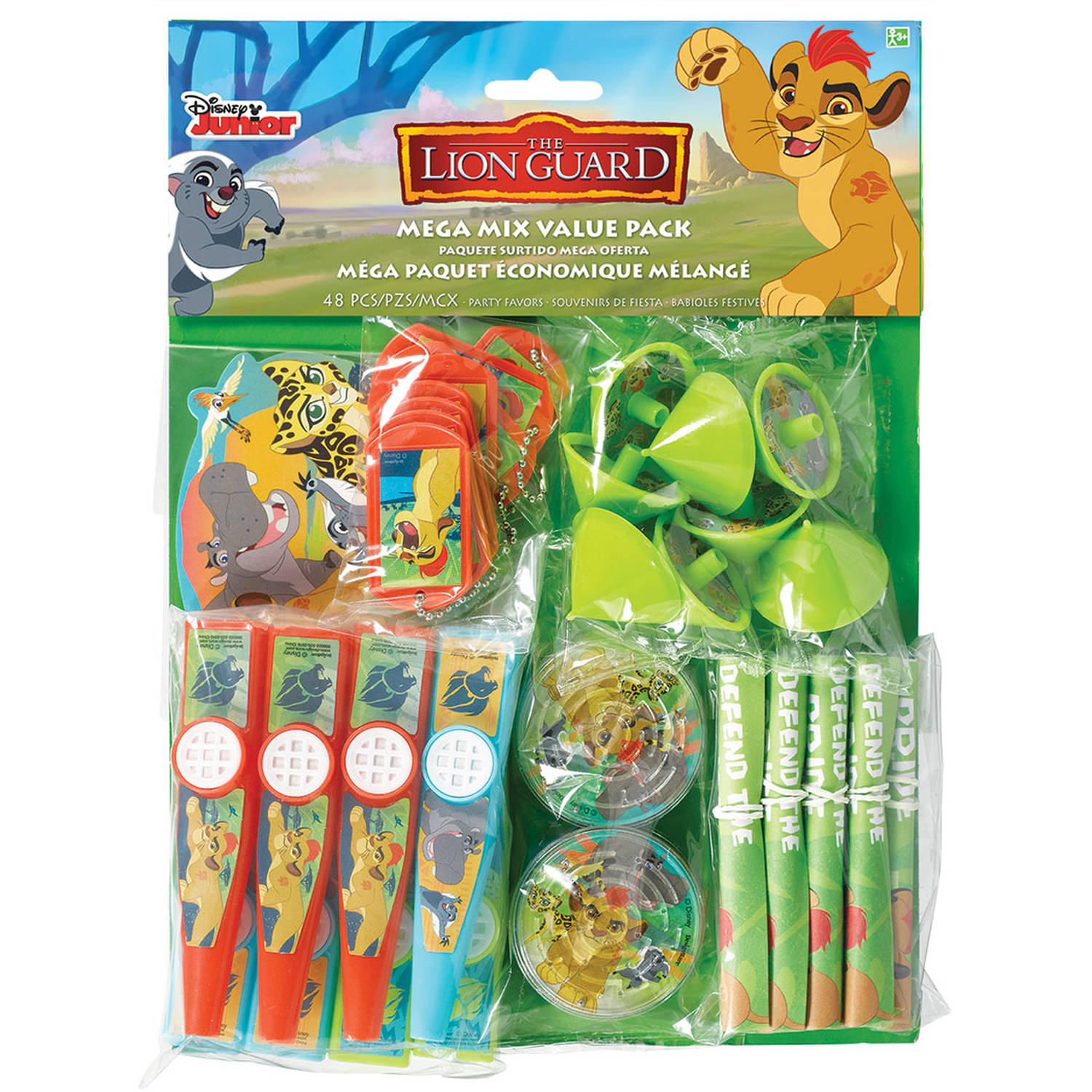 Disney The Lion Guard Party Favors, Package of 48