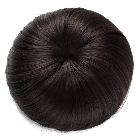 - Onedor Synthetic Hair Bun Extension Donut Chignon Hairpiece Wig