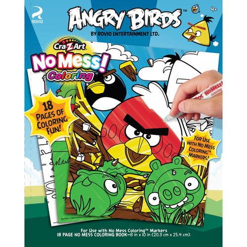 Cra-Z-Art Angry Birds No-Mess Coloring Book