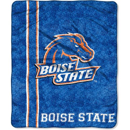 "NCAA 50"" x 60"" Sherpa Throw, Boise State"