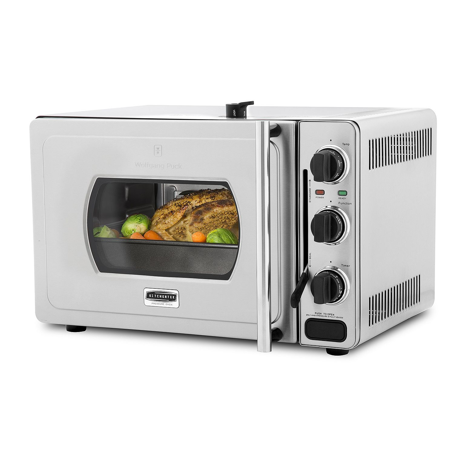 Wolfgang Puck Pressure All-in-one oven and pressure cooke...