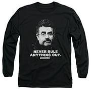 Warehouse 13 Artie Mens Long Sleeve Shirt
