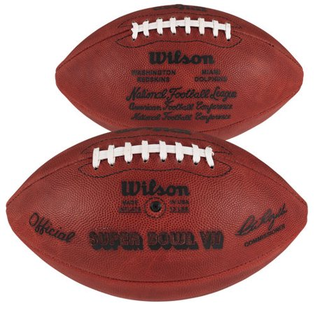 Super Bowl VII Wilson Official Game Football Autographed Miami Dolphins Football