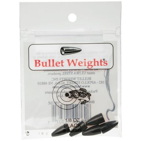 Bullet Weights® Bullet Weight Black, 1/8 oz, 5