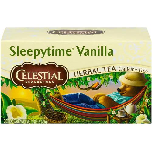 Celestial Seasonings Sleepytime Vanilla Herbal Tea, 20 count