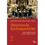 Ökumenische Kirchengeschichte - eBook