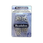 Beadalon Memory Wire End Cap Variety Pack 72pc