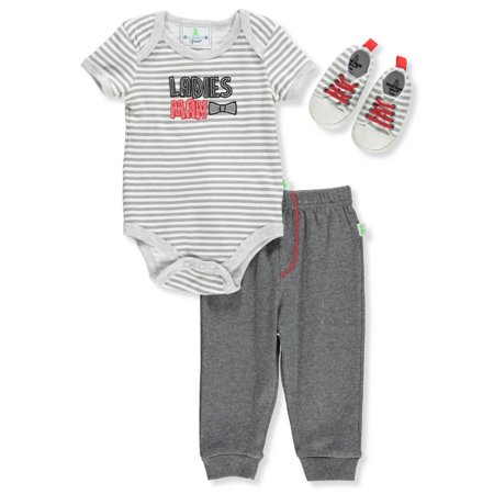 Duck Duck Goose Baby Boys' 3-Piece Pants Set Outfit](Duck Outfit)