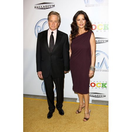 Michael Douglas Catherine Zeta Jones At Arrivals For Pga Producers Guild Of America Awards 2009 Hollywood Palladium Los Angeles Ca January 24 2009 Photo By Theresa GonzalesEverett (Michael Douglas And Catherine Zeta Jones Children)