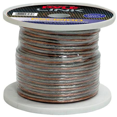 PYLE PSC12100 - 12 Gauge 100 ft. Spool of High Quality Speaker Zip