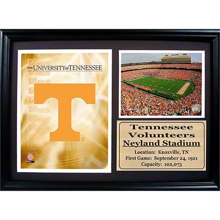 NCAA Tennessee Photo Stat Frame, 12x18 18' Photo Stat Frame