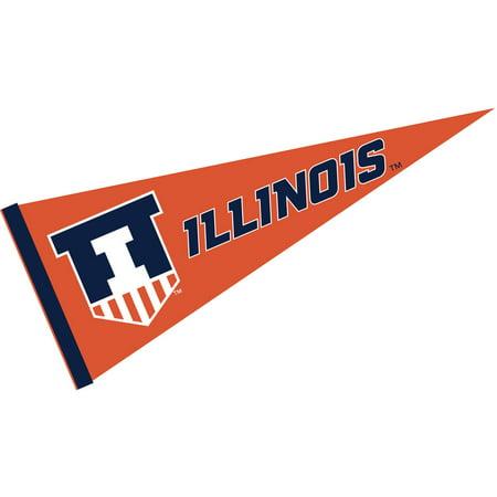 Illinois Fighting Illini Victory Badge 12