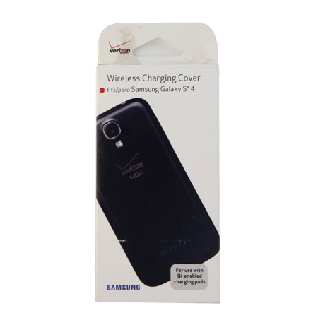 Oem verizon wireless charging cover for samsung galaxy s4 black oem verizon wireless charging cover for samsung galaxy s4 black publicscrutiny Gallery