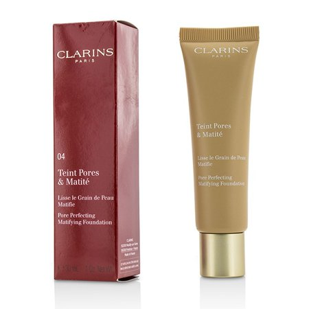 Amber Foundation (Clarins Pore Perfecting Matifying Foundation - Nude Amber 04 )