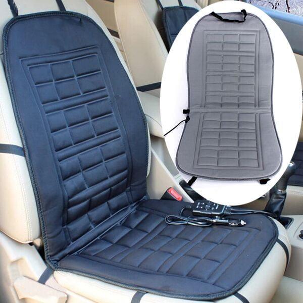 Universal Car Heated Seat Cover Cushion Gift Hot Warm Heating Warmer Winter 12V Vehicle SUV Truck Van by