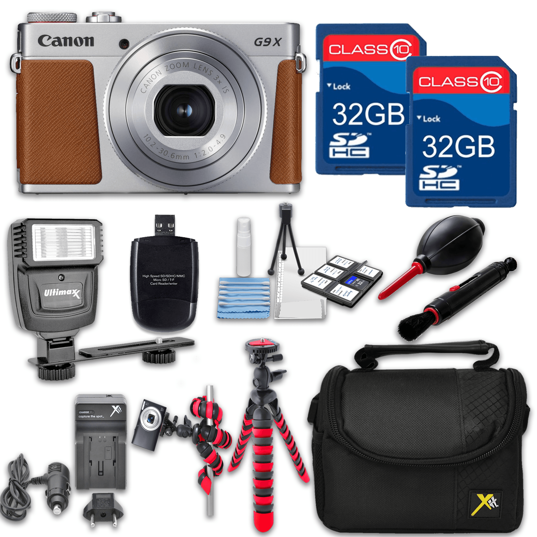 Canon Powershot G9 X Mark II (Silver) HS Point and Shoot Digital...