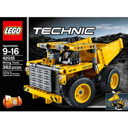 lego technic mining truck. Black Bedroom Furniture Sets. Home Design Ideas