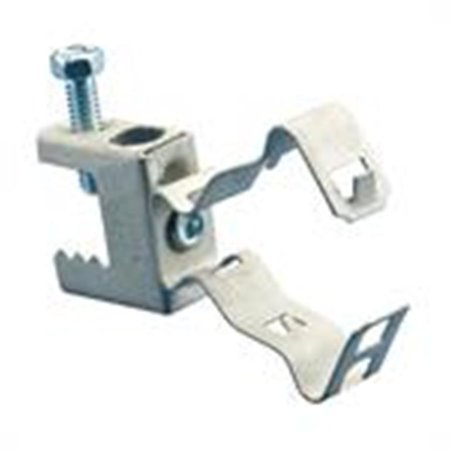 Caddy BC24MSM steel flange mount conduit clip Pkg/ 9