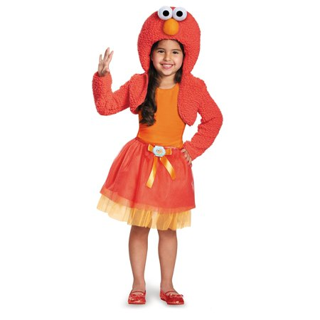 Disguise 76895M Elmo Shrug And Tutu Child Kit Costume, Medium - Elmo Tutu