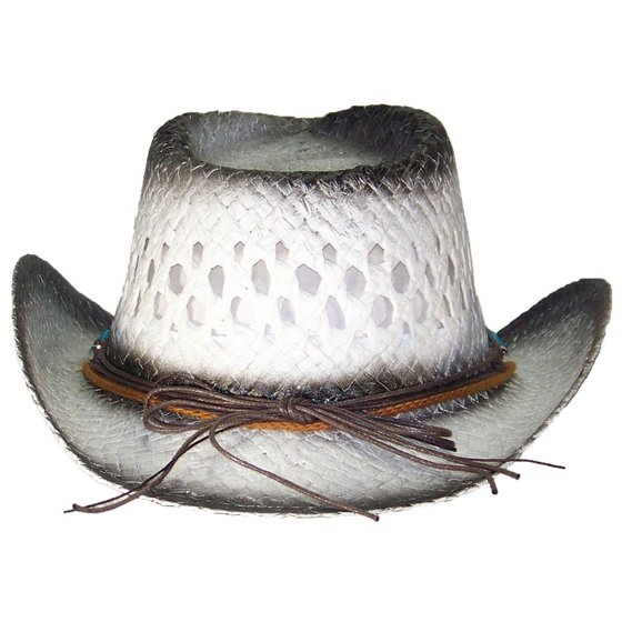 Tropic Hats - Tropic Hats Little Kids Paper Straw Cowboy Cowgirl W Band    Buckle (One Size) - Pink - Walmart.com 00caf2365ca3
