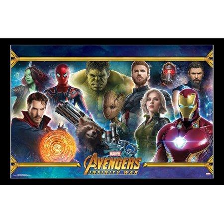 Avengers Infinity War - Team Poster Print - Walmart.com