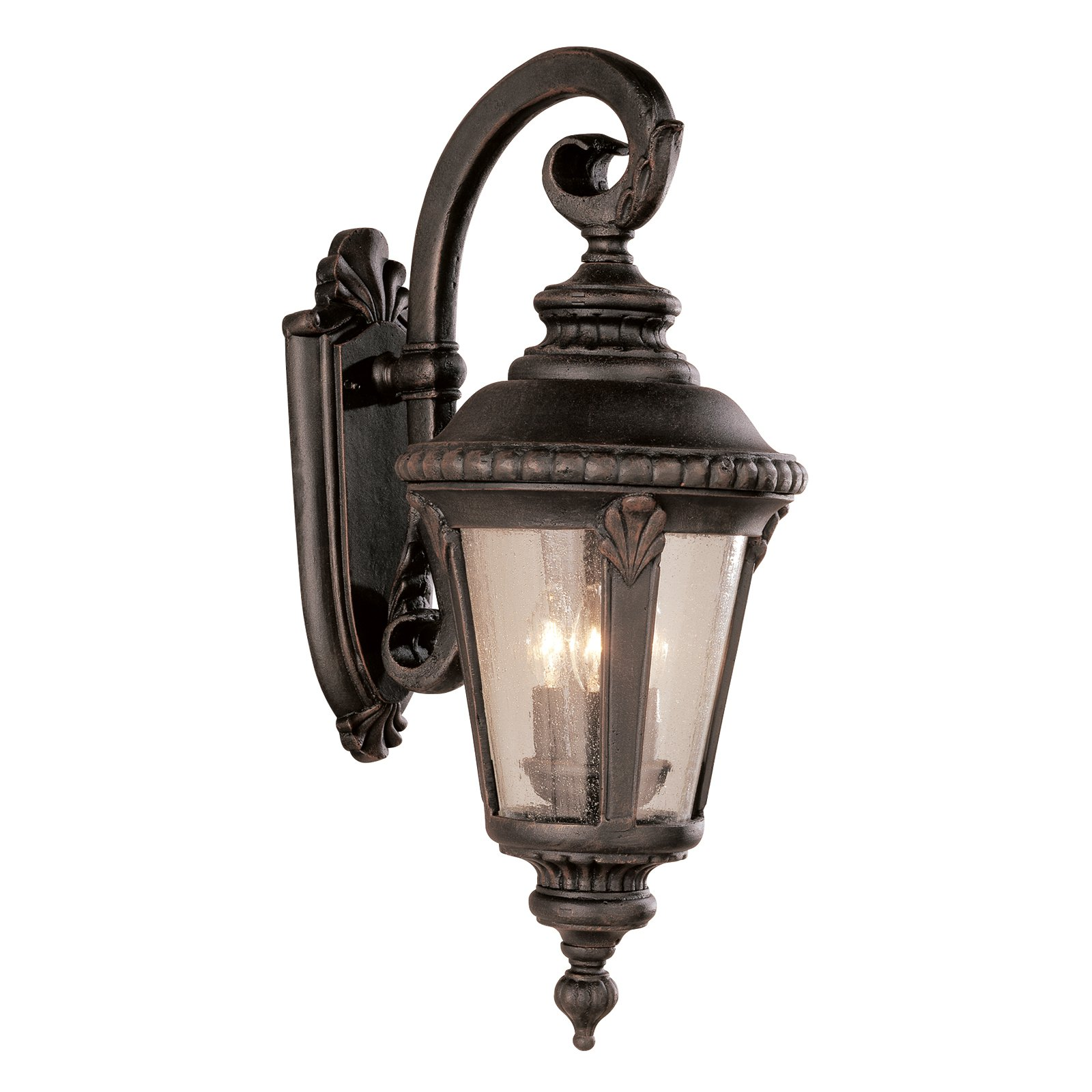Bel Air Saddle Rock Outdoor Wall Light - 25H in.