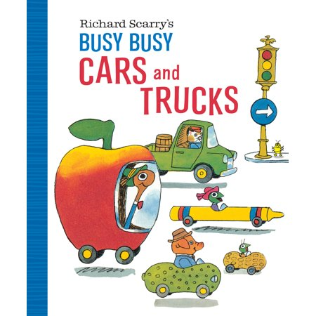 Richard Scarry's Busy Busy Cars and Trucks (The Busy World Of Richard Scarry Game)
