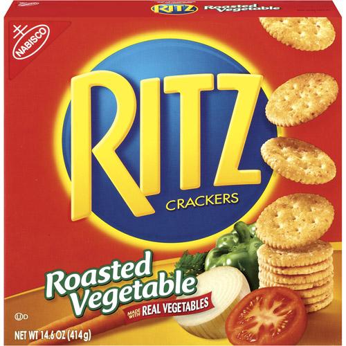 Nabisco Ritz Roasted Vegetable Crackers, 14.6 oz
