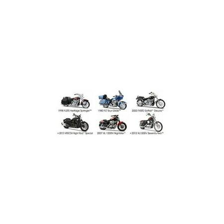 harley davidson motorcycle 6pc set series 31 1/18 by maisto 31360-31 by maisto
