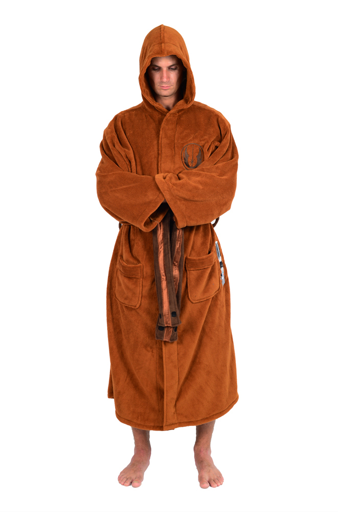 Star Wars Jedi Master Fleece Costume Bathrobe - Walmart.com