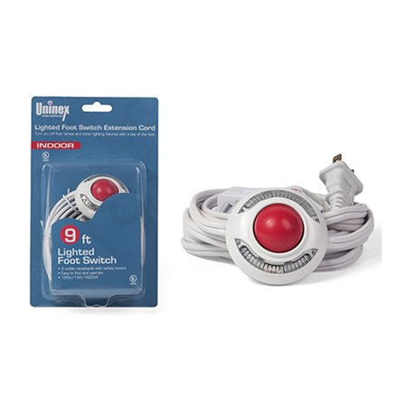 Light Extension Cord With Foot Switch 9 Ft Pedal Lamp 3