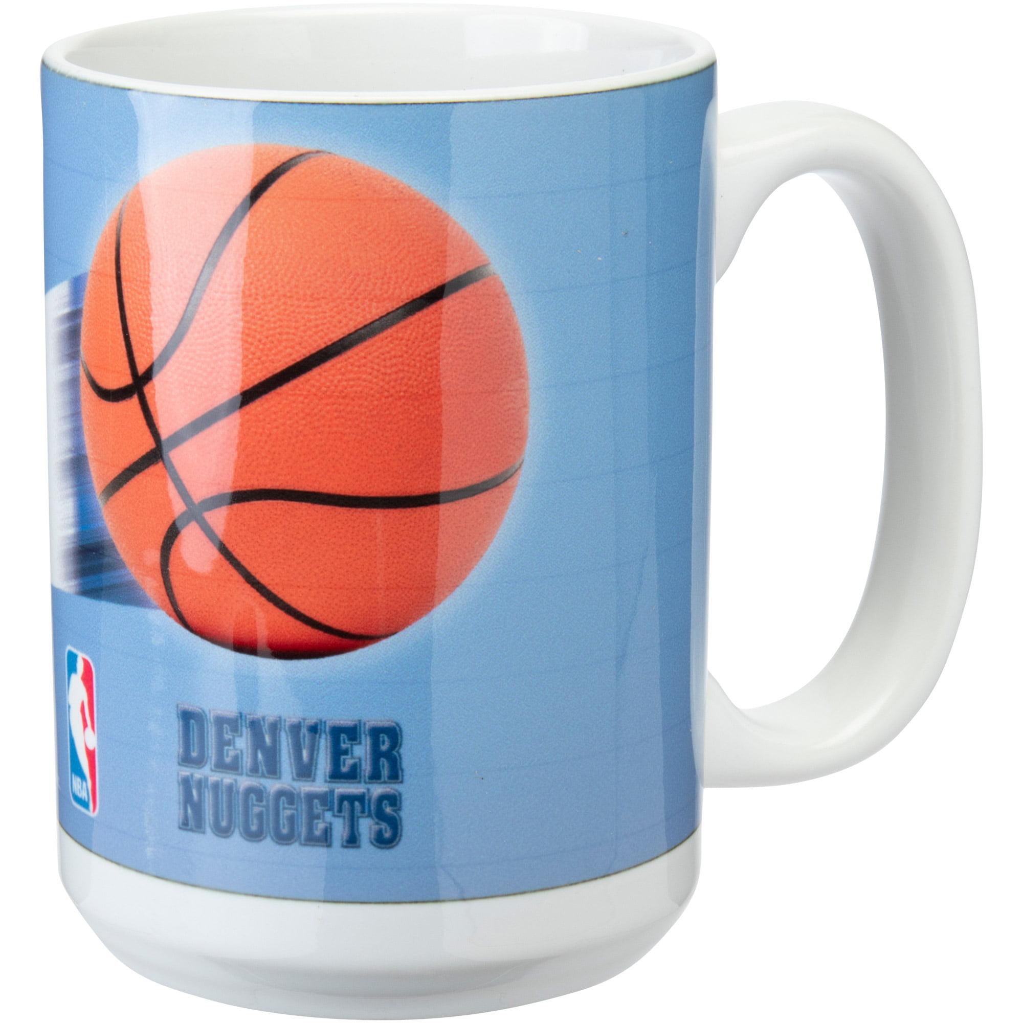 Denver Nuggets 15oz. Team 3D Graphic Mug - No Size