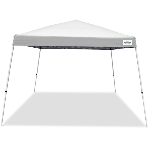 Caravan Canopy Sports 12' x 12' V-Series 2 Instant Canopy Kit, White (81 sq ft Coverage)