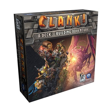 Clank! - A Deck-Building Adventure - Halloween Adventure Game