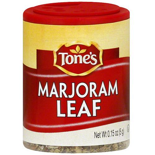 Tone's Marjoram Leaf, .15 oz (Pack of 6)