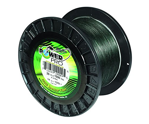 Power Pro 21100150500E Fishing Line, 15 lb 500 yd, Green by Power Pro