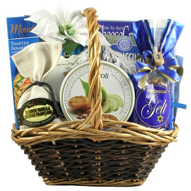 Gift Basket Village InCeHa-Med Medium Hanukkah Celebration  Gift Basket