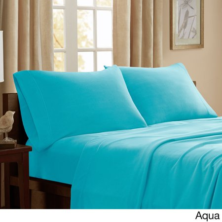 Peak Performance Pine Canopy Little River Stain-resistant Fleece Sheet Set