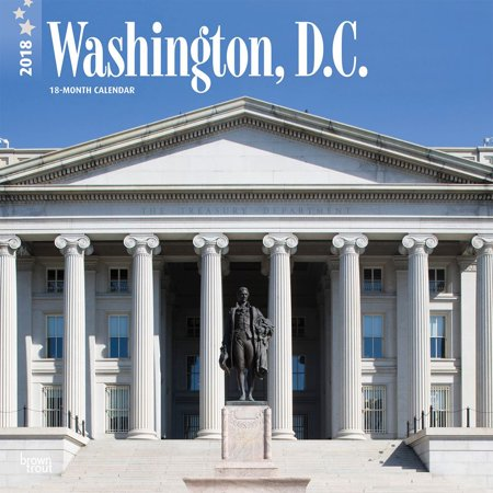 Washington  D C  2018 12 X 12 Inch Monthly Square Wall Calendar  Usa United States Of America Capital Northeast City