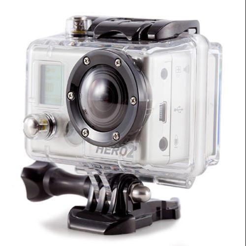 AGPtek Brand new Waterproof Protective Camera Housing Case Class Lens for GoPro Suptig HD Hero HD Hero 2