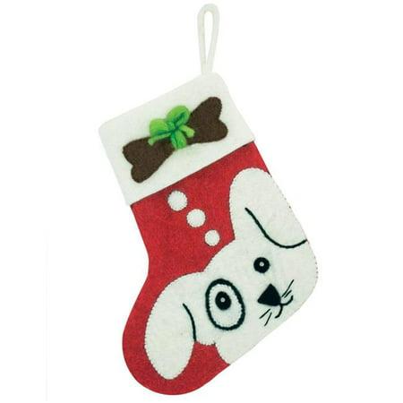 Wild Woolies DZI473069000 Handmade & Fair Trade Puppy Holiday Stocking - image 1 of 1