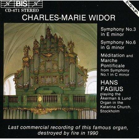 Organ Symphonies 1 3   6   Meditation   Marche