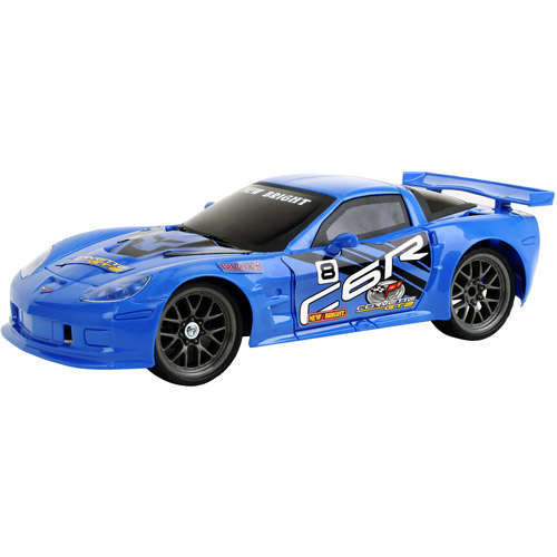 New Bright Chevrolet Corvette Radio-Controlled Vehicle, Blue