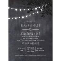 Product Image Wedding Glow Standard Invitation