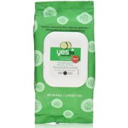 Yes to Cucumbers Soothing Hypoallergenic Facial Wipes 30 ea (Pack of 2)