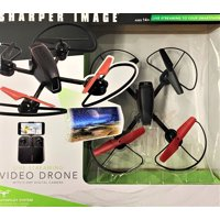 Sharper Image Master Drone Mach 10inch With Camera Streaming
