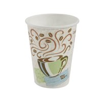 Dixie® PerfecTouch® 12 oz. Insulated Paper Hot Coffee Cup, 5342CD, 1,000 Count (50 Cups Per Sleeve, 20 Sleeves Per Case)