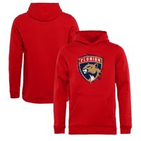 Florida Panthers Fanatics Branded Youth Splatter Logo Pullover Hoodie - Red