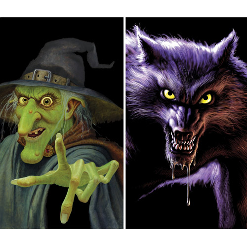Wiley Witch And Werewolf Wow Windows